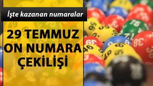29 Temmuz MPİ On Numara çekiliş sonuçları On Numarada bu hafta 66 bin TL sahibini buldu