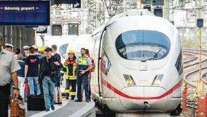 Cinayet aleti 'hızlı tren ICE'