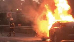 Sevinçleri sadece 2 saat sürdü Yeni araçları böyle yandı
