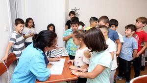 Boluda 218 öğrenci ücretsiz satranç öğreniyor