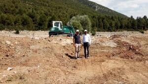 Onaç Barajı çevresinde düzenleme