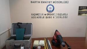Anadolunun tek yol anıtında kaçak kazı yapan 6 defineci yakalandı