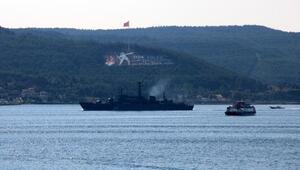 Rus savaş gemisi Akdenize iniyor
