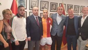 Emre Mor, Galatasaray formasını giydi
