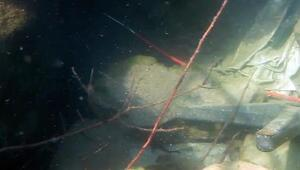 Dalgıçlar, denizdeki kirliliği gün yüzüne çıkardı