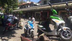 Ispartada motosiklet denetimi