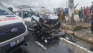 Giresunda kaza: 3 ölü, 1 yaralı