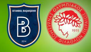 Başakşehir, Şampiyonlar Ligi aşkına Rakip Olympiakos...