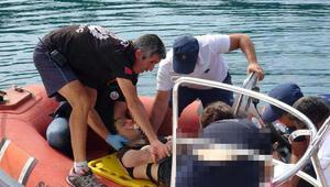Falezlerden denize atlayan genç ağır yaralandı