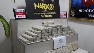 Almanya plakalı araçta 42,5 kilo eroin ele geçirildi