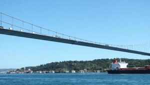 Fatih Sultan Mehmet Köprüsüne UEFA Süper Kupa bayrağı asıldı