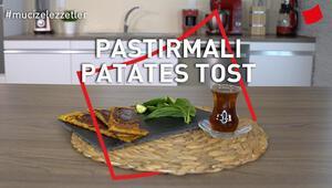 Pastırmalı Patates Tost | Mucize Lezzetler