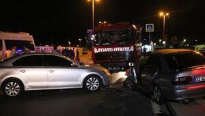 Sarıyerde trafik kazası: bir ağır yaralı