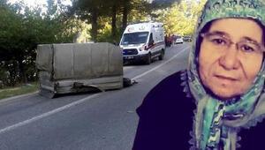Minibüse takılı römorkun çarptığı çift öldü