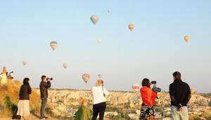 Kapadokyayı ziyaret eden turist sayısı 2 milyona yaklaştı