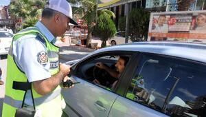 Temmuzda 200 sürücüye 31 bin 865 lira ceza