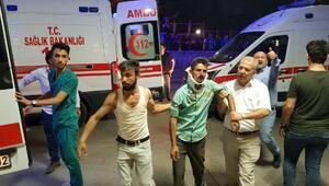 Siirtte yolcu minibüsü devrildi: 1i çocuk 2 ölü, 10 yaralı