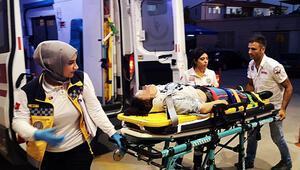 Kazadan kurtuldu, babasından kurtulamadı