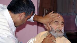 Yaşlı ve hastalara evde tıraş