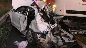 Sakaryada zincirleme kaza: 7 yaralı