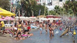 Bodrumda tatilciler mandalinalı lokumla karşılandı