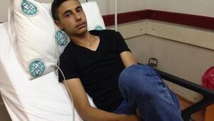 15 yaşındaki Mehmeti ayakkasına giren akrep soktu