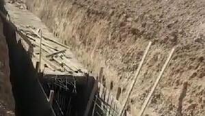 Teröristlerin Resulayndaki tünel ve siper kazıları devam ediyor
