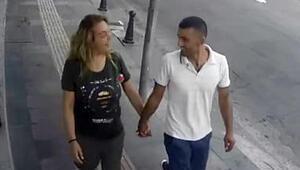 Hırsızlığa el ele giden sevgilileri özel ekip yakaladı