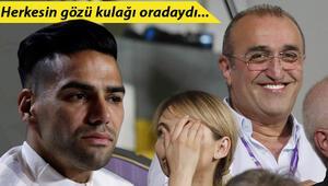 Galatasaray maçında dikkat çeken görüntü! Falcao...