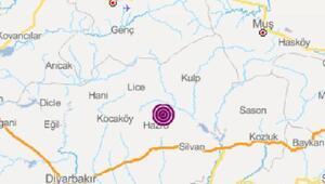Hazroda 3.6 büyüklüğünde deprem