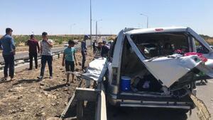 Şanlıurfada 3 aracın karıştığı zincirleme kaza: 15 yaralı