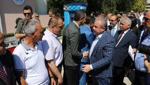 Şentop, Tekirdağda bayramlaşma törenine katıldı