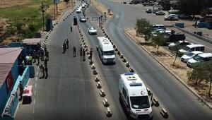 Diyarbakırda hava destekli trafik denetimi