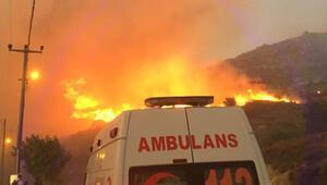 Son dakika: Marmara Adası ve Burgazadada orman yangını