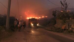 Marmara Adası'ndaki yangın