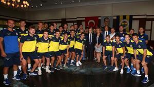 Fenerbahçede bayramlaşma töreni yapıldı