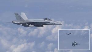 Son dakika... Rusya Savunma Bakanı Şoygu'nun uçağına yaklaşmaya çalışan NATO uçağı uzaklaştırıldı