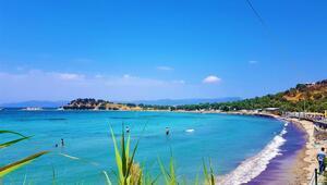 Türkiye'nin en sakin plajı! Kalabalıktan uzak deniz keyfi...