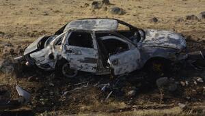Otomobil şarampole devrildi: 1i bebek, 4üçocuk 7 yaralı