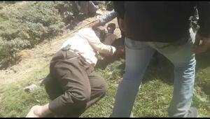 Yaylada attan düşüp yaralandı, helikopterle hastaneye ulaştırıldı