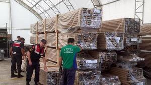 Çerkezköyden çalınan malzemeler İstanbulda bulundu