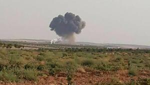 İdlibde muhalifler rejim uçağını düşürdü