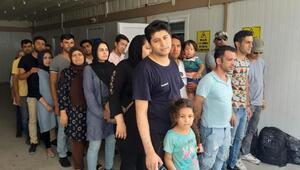 Keşanda 40 kaçak göçmen yakalandı