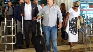Sturridgein ailesi Trabzona geldi