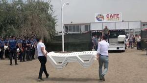Gazinin darp edildiği kafe kapatıldı