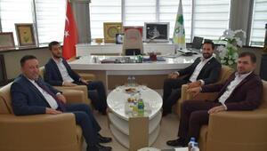 Milletvekillerinden Başkan Beyoğluna ziyaret