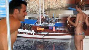 Ünlü oyuncu Marmaris'te... Günlük 950 Euro'ya tatil!
