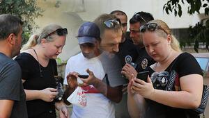 Kapkaç mağduru turist, yaşadıklarını çeviri programıyla anlattı
