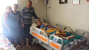 Elmalılı Elif Nineye hasta yatağı