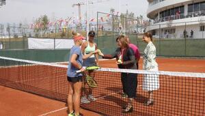 Büyükşehir'in ev sahipliğinde tenis şampiyonası başlıyor